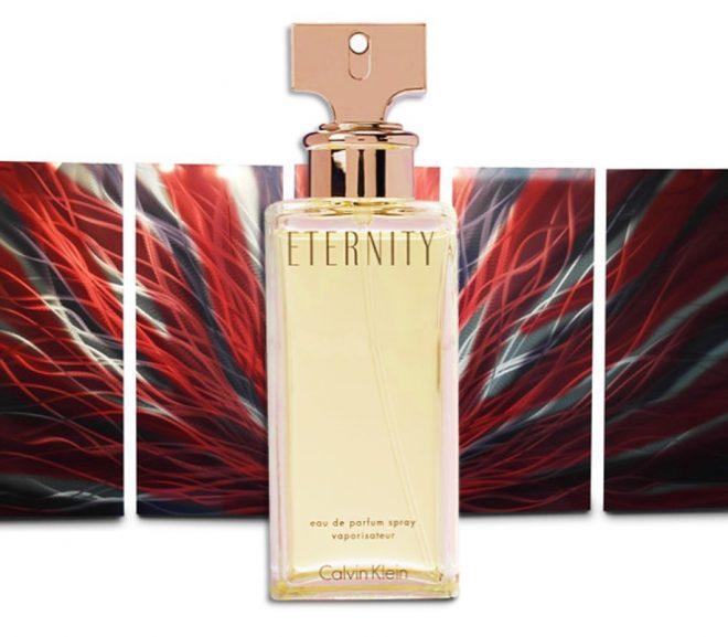 Przykład współczesnych perfum. Eternity